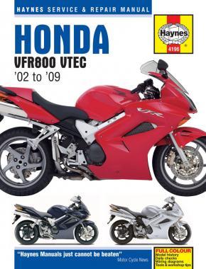 Haynes VRF800 vtec handboek