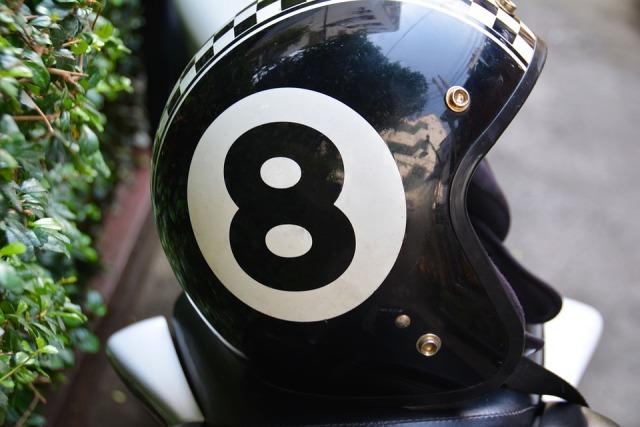 eight bal motor helm