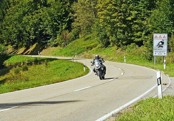 motorrijder duitseweg