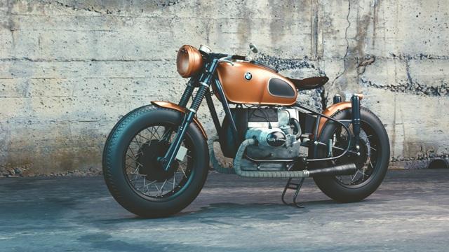 voorbeeld van een BMW motor