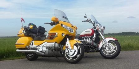 honda goldwing vs harley-davidson